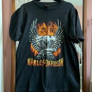 Vintage 00 Vegas Harley Davidson Tee